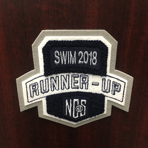 Swim Runner-Up Patch