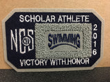 Swimming Scholar Athlete Patch