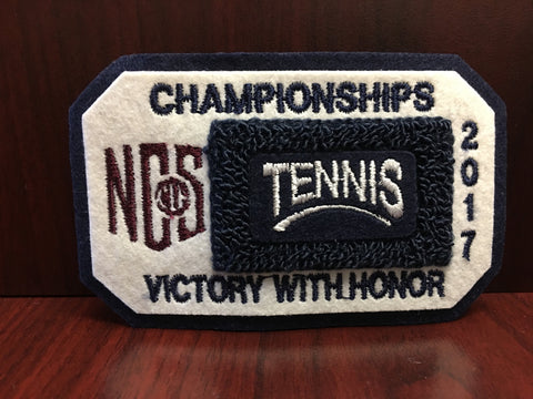Tennis Championship Patch