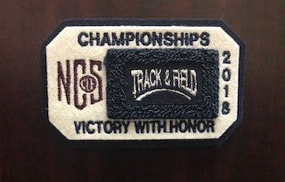 Track and Field Championship Patch