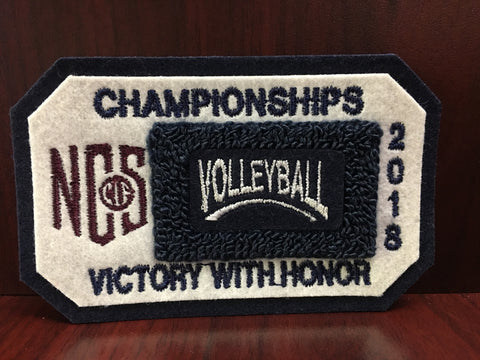 Volleyball Championship Patch