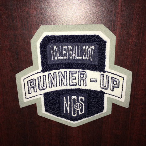 Volleyball Runner-Up Patch