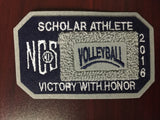 Volleyball Scholar Athlete Patch
