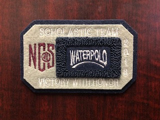 Water Polo Scholastic Team Patch
