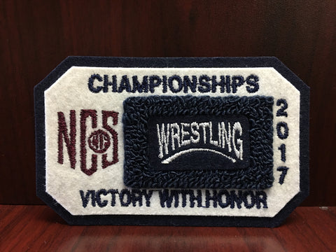 Wrestling Championship Patch
