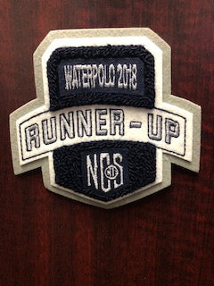 Water Polo Runner-Up Patch