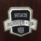 Wrestling Runner-Up Patch
