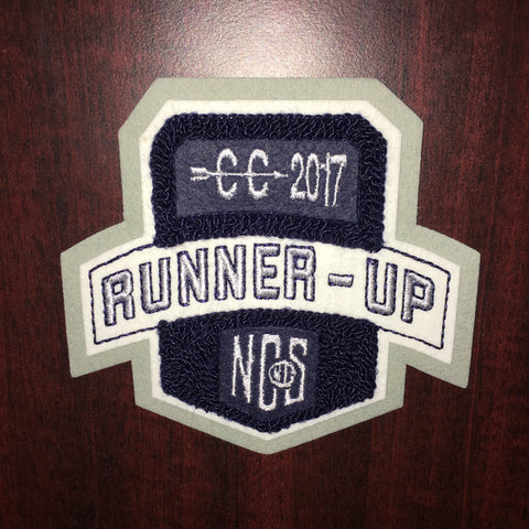 Cross Country Runner-Up Patch