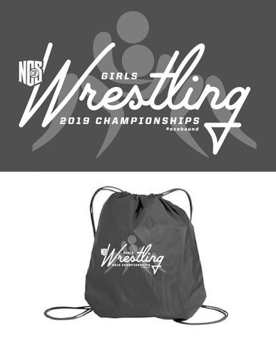 Girls Wrestling Cinch Sack