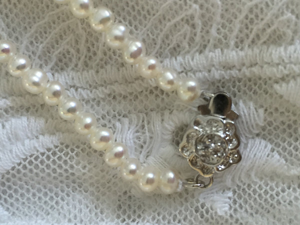 Perles D'amour Designer Collection - Pearl Necklace/Bracelet, Limited Edition - MonyaFlora.com Poetic Nature-Inspired Jewelry and Fashion Accessories