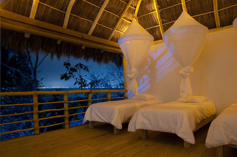 SMALL PALAPA (SHARED DORM) - 7 NIGHTS