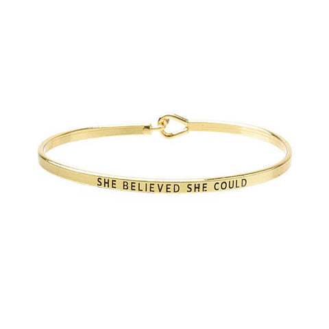 Inspire Yourself Bracelet