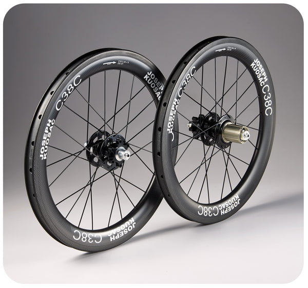 Joseph Kuosac 355/369/406/451 Carbon Bicycle Wheelset