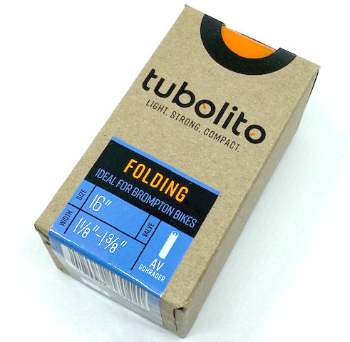 "Tubolito 16"" Lightweight Inner Tube for Brompton Bicycle"