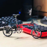 1/6 Brompton Bicycle Plastic Model