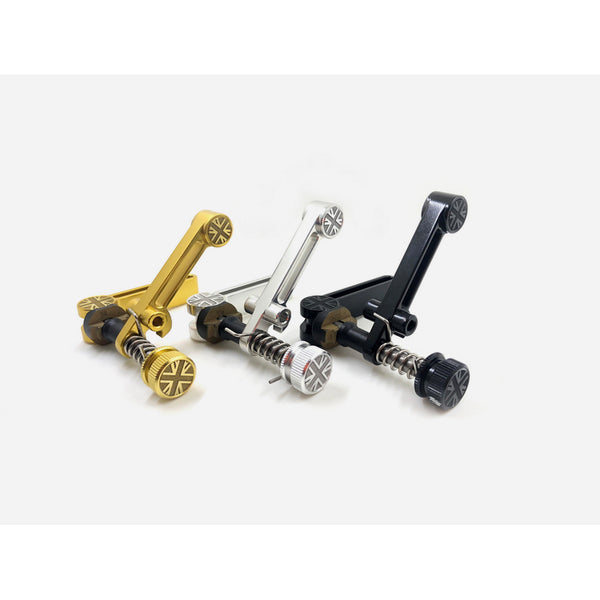 F+ Union Jack CNC Seatpost Clamp Set for Brompton Bicycle