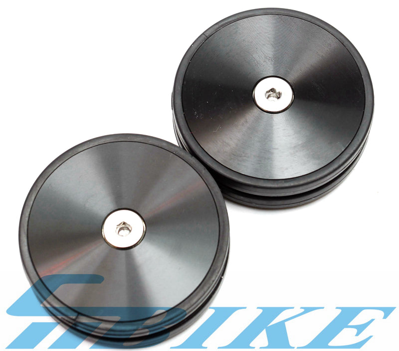 ACE 60mm Disc Style Eazy Wheels for Brompton Bicycle 56g easy pulling