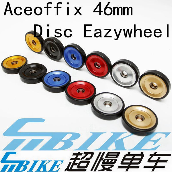 ACE Aceoffix CNC Aluminium Bearing Tensioner Pulley Wheels for Brompton Bicycle