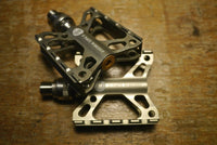 Ti Parts Workshop Titanium Double X QD Pedal for Brompton Bicycle