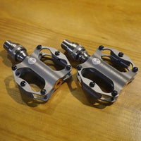 Ti Parts Workshop Titanium Mini Quick Release Pedals for Brompton Bicycle