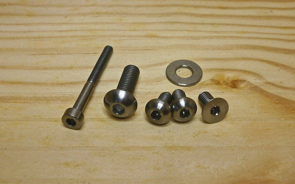 Ti Parts Workshop 2/6 Speed Shifting Pusher Ti Bolt Set for Brompton Bicycle