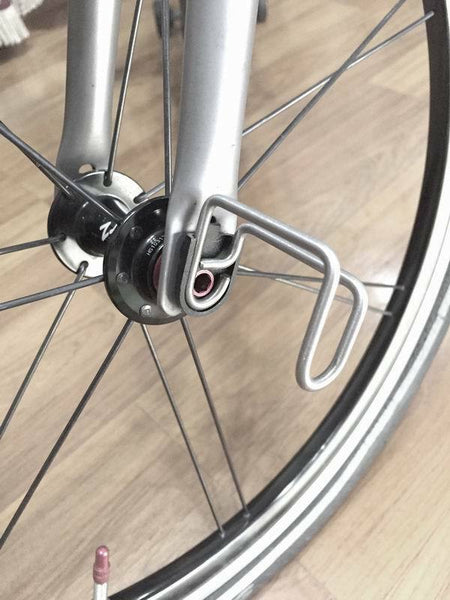 F+ Ultralight 6.2g Front Wheel E Hook for Brompton Bicycle