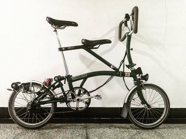 IT Chair Child Seat for Brompton Bicycle