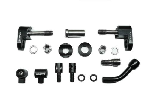 Ti Parts Workshop Brompton Bicycle eebrake Adapter & Reverse Wires Guiding Set