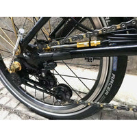 F+ CNC Derailleur Cable Guide Stop for Brompton Bicycle