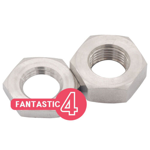 Ti Parts Workshop Ti 3/6 Speed Rear Hub Spacer Nut Set for Brompton Bicycle