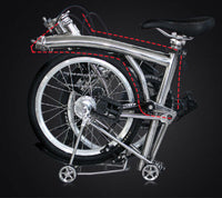 F4 Titanium Main Body Frame for Brompton Bicycle