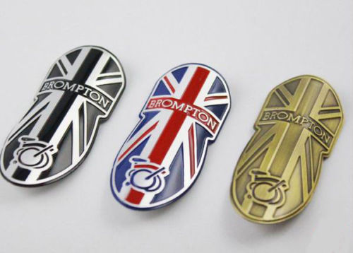 Brompton Bicycle Metal Head Badge