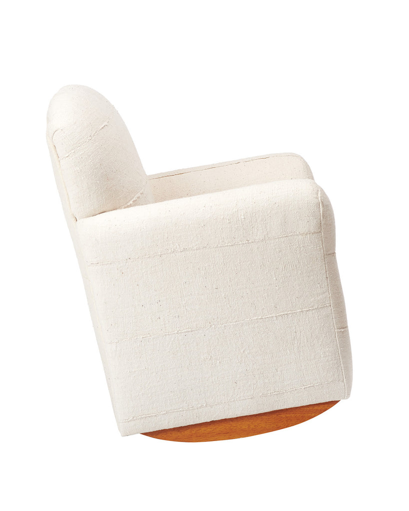 Mud Cloth Kids Club Chair Rocker