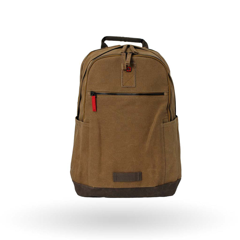 "Mochila Wenger Arundel, para laptop de 16"" y tablet de 10"", 602830, color camel, sistema de barra estabilizadoras y correas Pass-Thru."