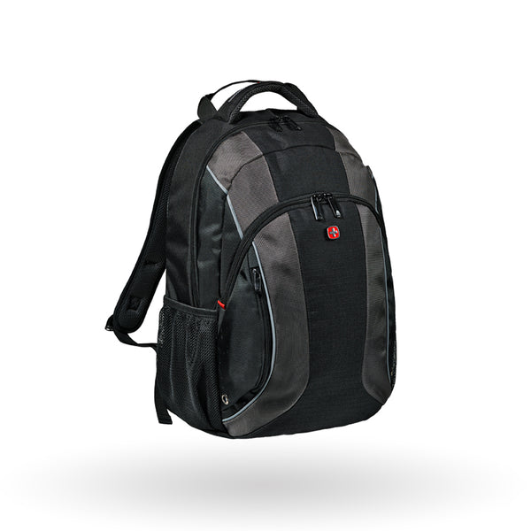 "Mochila Wenger Mercury, para laptop de 16"", 604433, color negro, tecnología Air Flow"