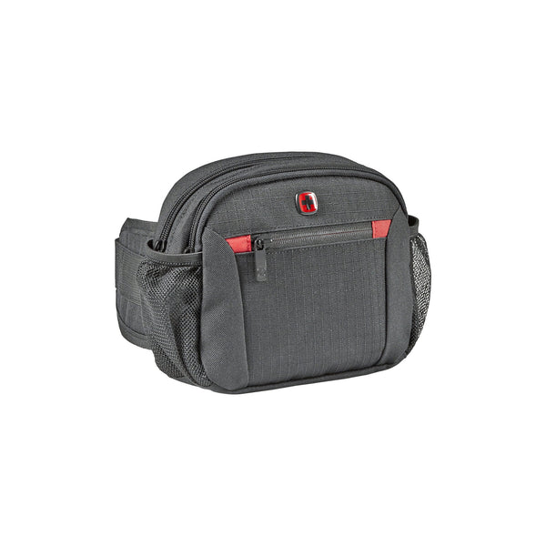 Cangurera Jumbo Wenger, 604604, Color Gris, bolsillos QuickAccess