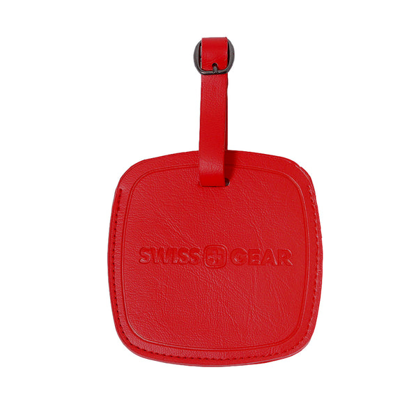 Identificador de Equipaje Jumbo Swiss Gear, WJ3190RE, Color Rojo