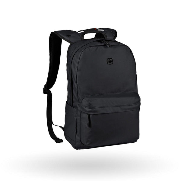 "Mochila Wenger Photon, para laptop de 14"", 605032, color negro, repelente al agua"