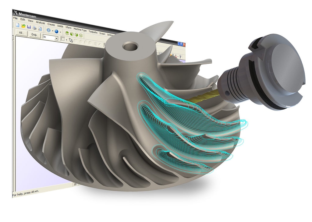 MASTERCAM U Mill Design and Toolpaths Advanced