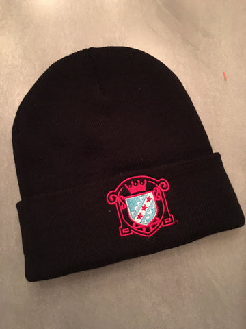 Foldover Winter Malört logo beanie HAT $1 MAIL SALE!
