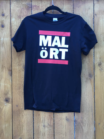 Black Rap Malört Tee - WITH UMLAUT