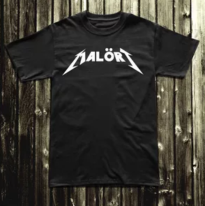 Malört Rock Logo Shirt
