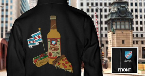 "The ""Chicago Style"" Malört hoodie!"