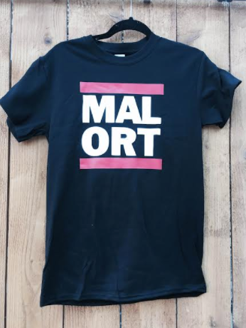 Black Rap Malort Tee - WITH NO UMLAUT