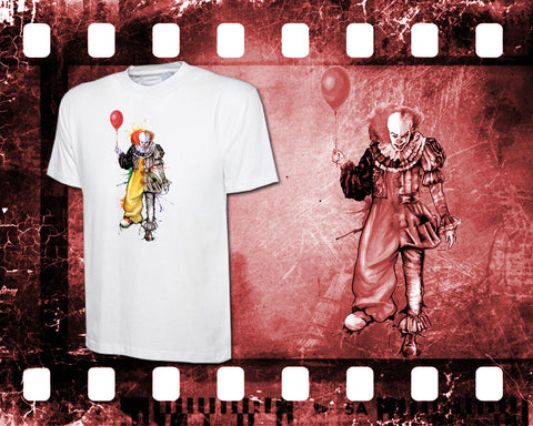 IT - Pennywise - Mens White T-Shirt