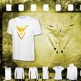Pokemon - Team Instinct - Mens and Ladies White Shirt/Hooded Top