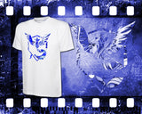 Pokemon - Team Mystic - Mens and Ladies White Shirt/Hooded Top