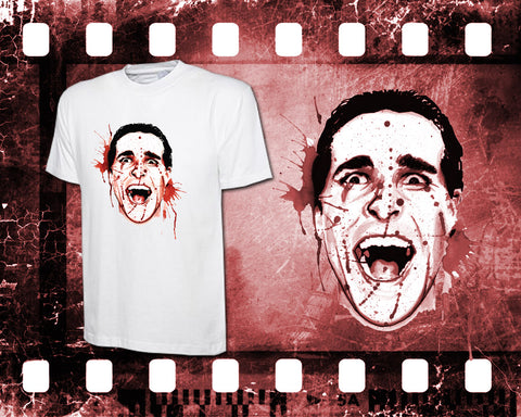 American Psycho - Mens and Ladies White Shirt/Hooded Top
