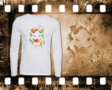 Bowser - Mario - Mens and Ladies White Shirt/Hooded Top
