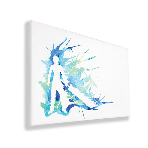 Final Fantasy - Cloud - Wall Canvas
